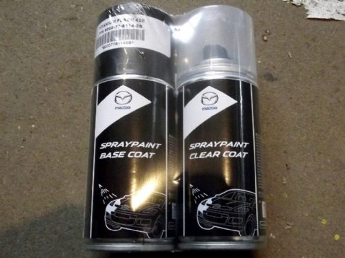 Paint spray kit, genuine Mazda, 42S, Titanium Flash mica